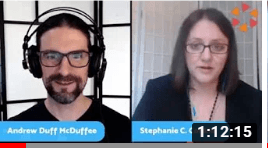 Stephanie Conkle and Duff McDuffee debate Past Life Regression Hypnosis