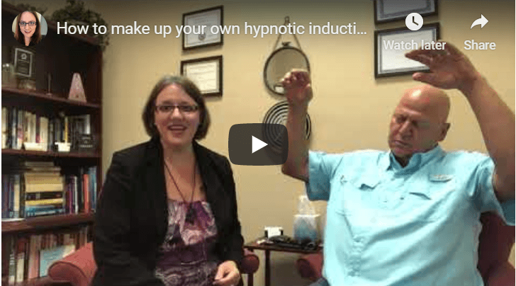 How to make up your own hypnotic inductions